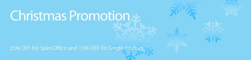 E-iceblue Christmas Promotion