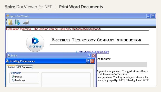 Print Word Documents