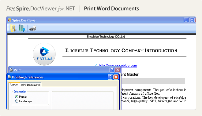 Print Word Documents