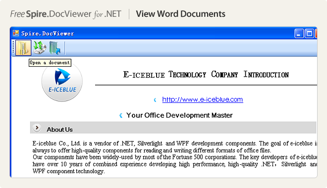 View Word Documents