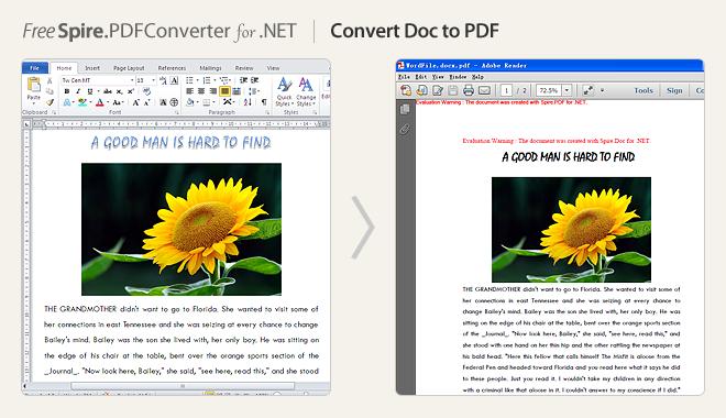 Convert Doc to PDF
