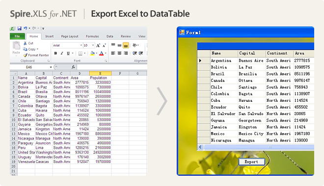 Net Excel Component Developing Excel In C Vb Net Asp