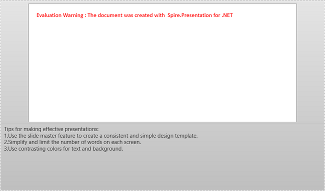 How to Add a Numbered List to Notes in PowerPoint in C#