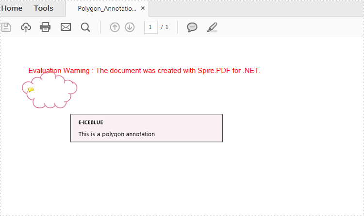How to Add a Polygon Annotation to PDF in C#, VB.NET