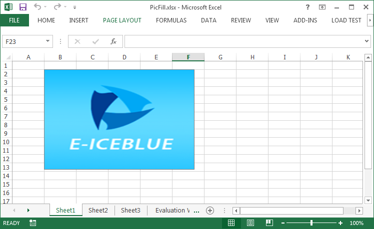 Adding Picture to Excel Textbox in C#, VB.NET