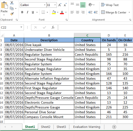 AutoFit Column Widths and Row Heights in Excel