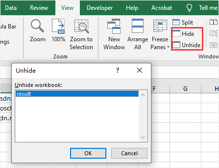 C#/VB.NET hide and unhide window for Excel Workbook