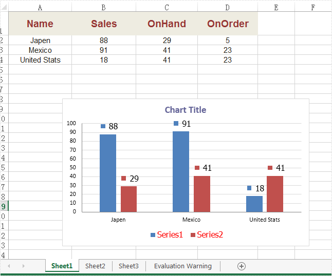 How to set the font for legend and datalable in Excel Chart