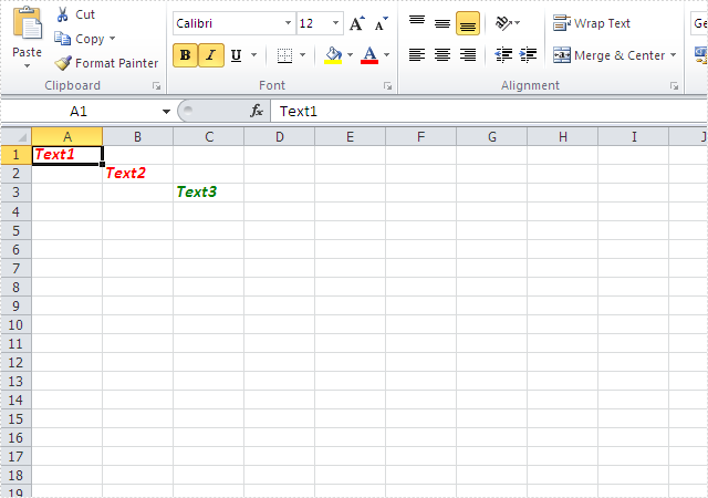 How to clone Excel Font Style in C#