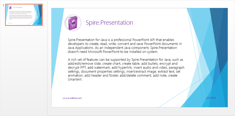 Convert PowerPoint to PDF in Java