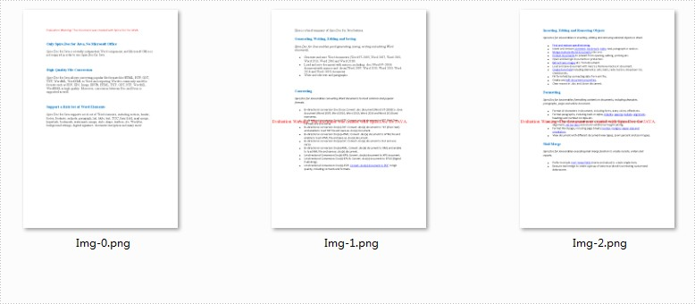 Convert Word to Image in Java