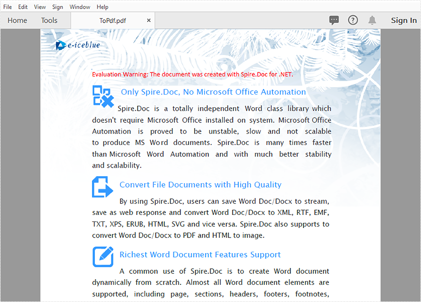 C#, VB.NET Convert Word to PDF in Azure Apps