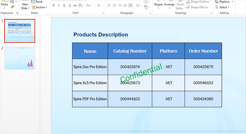 C# Copy shapes between slides in PowerPoint document