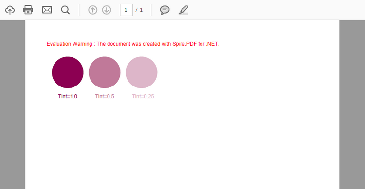 How to Create Spot Color in PDF in C#, VB.NET