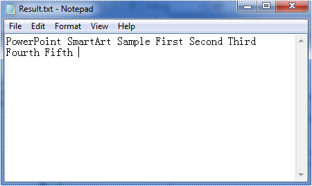 How to Extract Text from SmartArt in PowerPoint in C#, VB.NET
