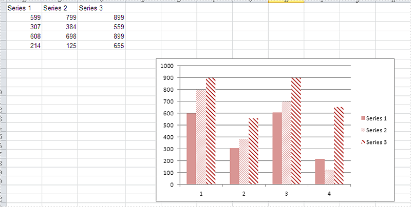 How To Set The Background Color For Excel Chart In C