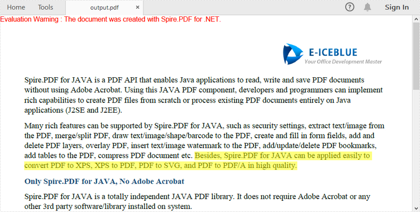 Find and Highlight Text Spanning Multiple Lines in PDF in C#, VB.NET
