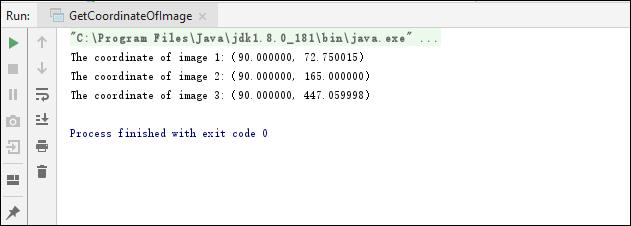 Get Coordinates of Images in PDF in Java