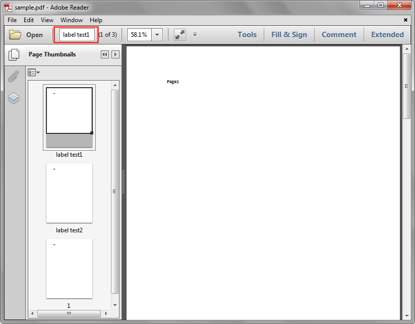 Get PDF Page Labels in C#