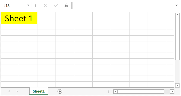 Hide or Show Row Column Headers in Excel with C#
