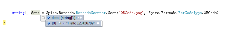 How to Scan Barcode in C#