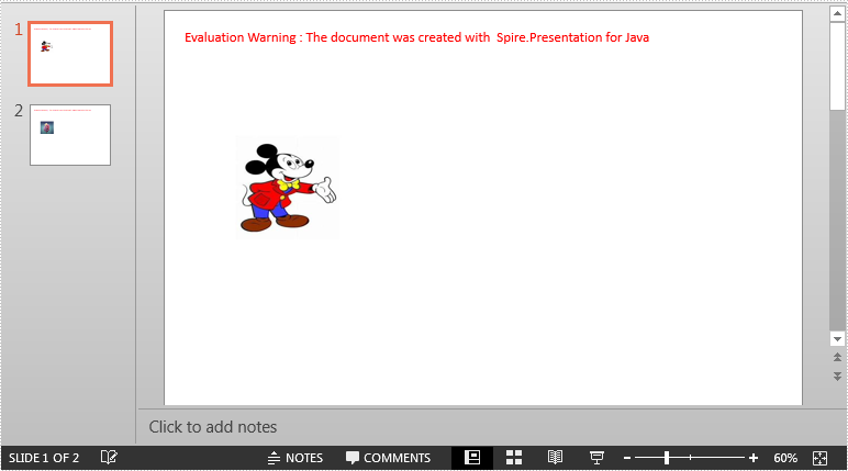 Insert and Extract Images from a PowerPoint Document in Java