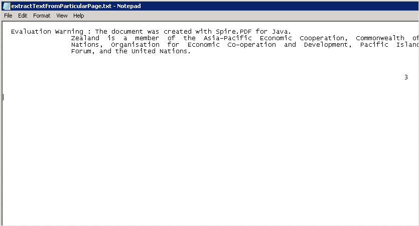 Java extract text from specific area or particular page of PDF