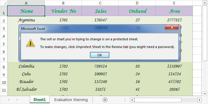 How to Lock or Unlock Excel Cells in WPF