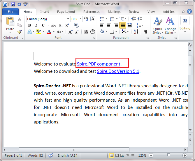 how to modify hypertext in word document