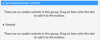 Add Spire.Spreadsheet Controls to Toolbox