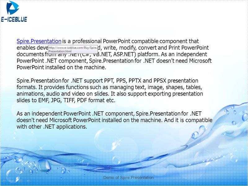 Modify hyperlinks in PowerPoint documents