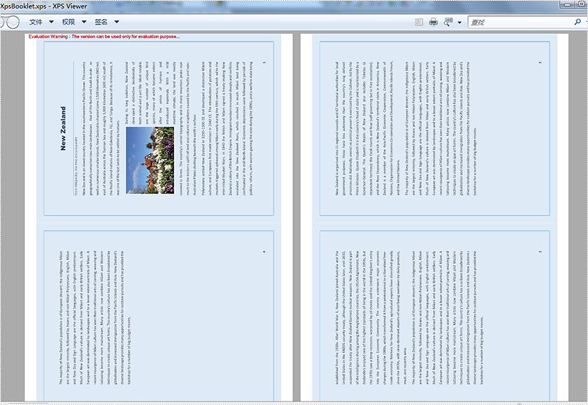 Print PDF pages to booklet in C#