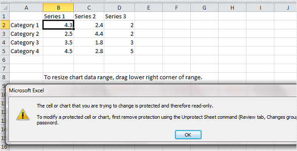 How to Protect Chart on PowerPoint Slide in C#, VB.NET