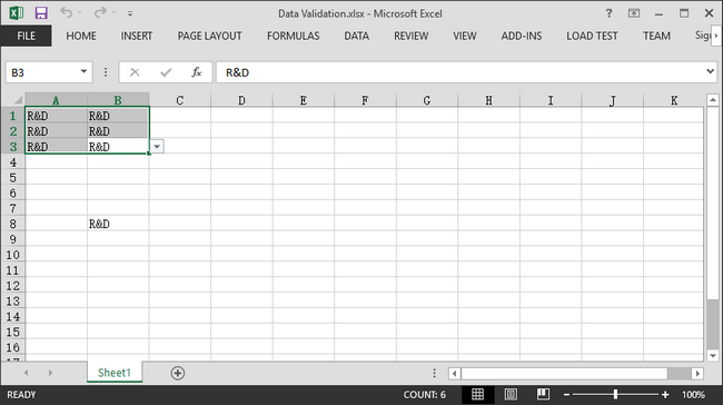 Remove Data Validation in Excel in C#