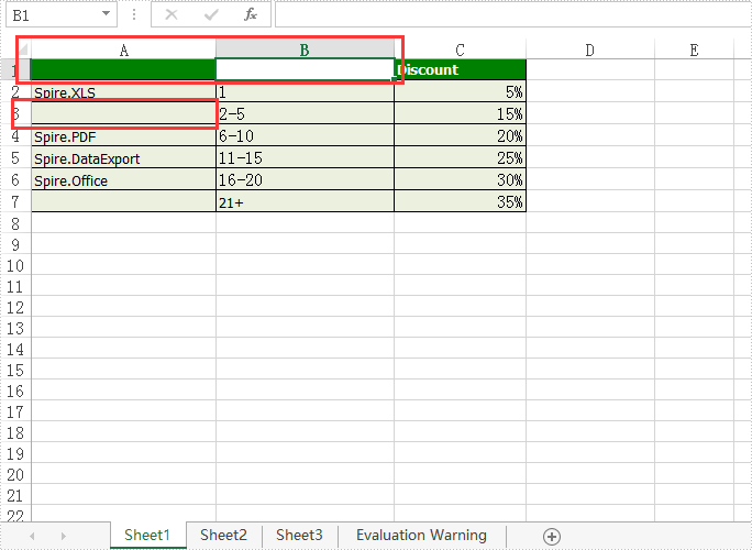 How to remove the value and format from Excel Cell range