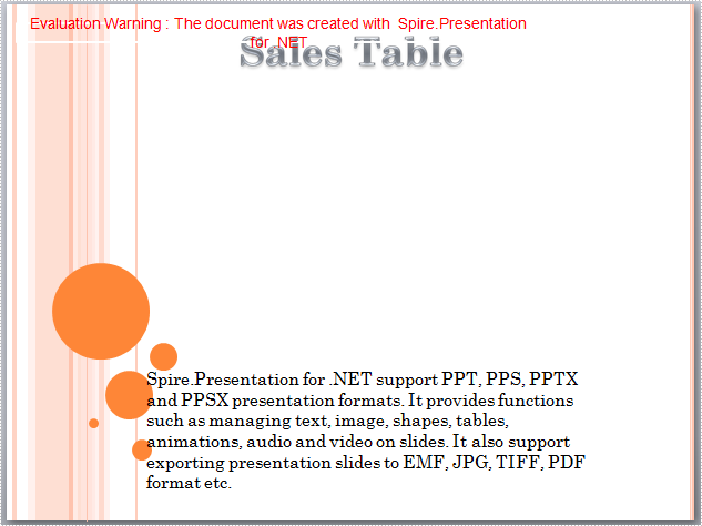 Remove Table from PowerPoint document