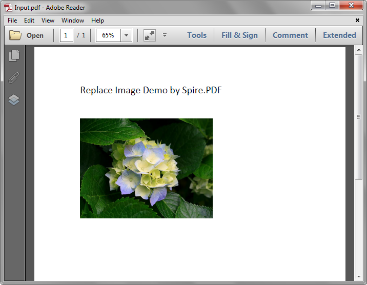Replace image with new image in PDF in Java