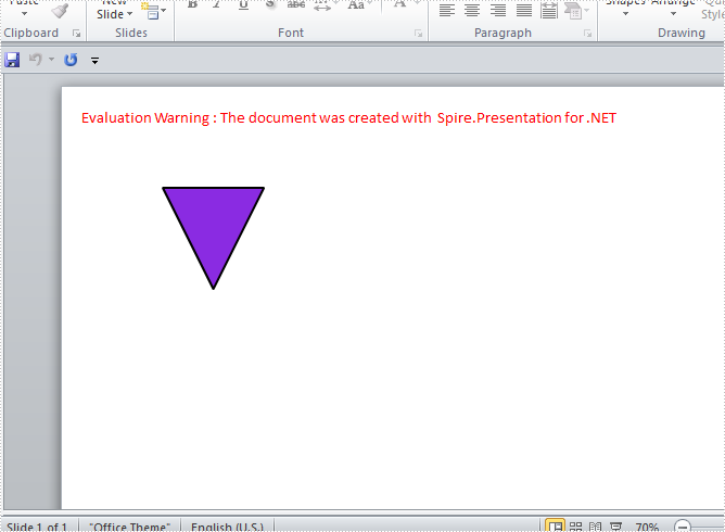 Rotate Shapes on PowerPoint Slide with .NET