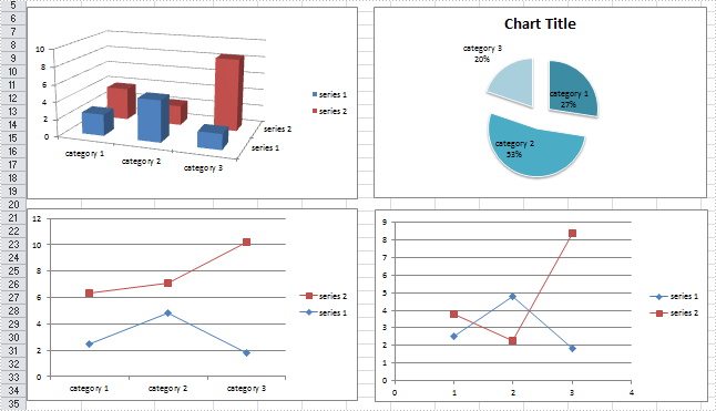 How to Save Excel Charts as Images in C#, VB NET