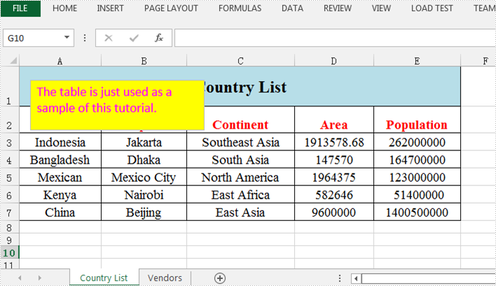 Set Font and Background Color for Excel Textbox in Java