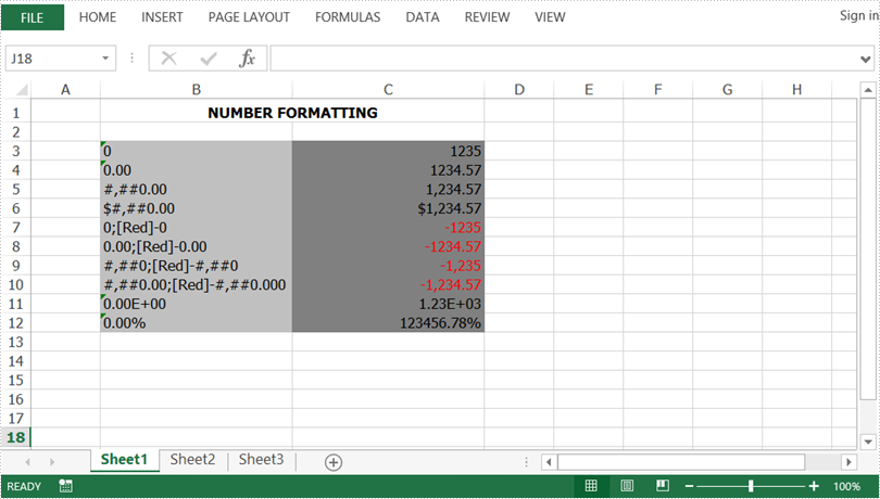 Set Number Format in Excel in Java
