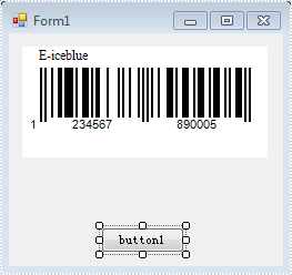 How to Set TopText of Barcode in WinForm