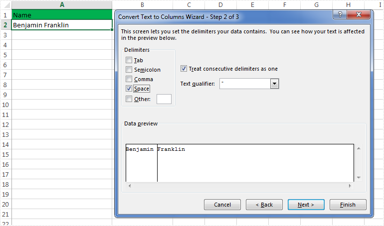 How to Split Excel Data into Multiple Columns in C#, VB NET