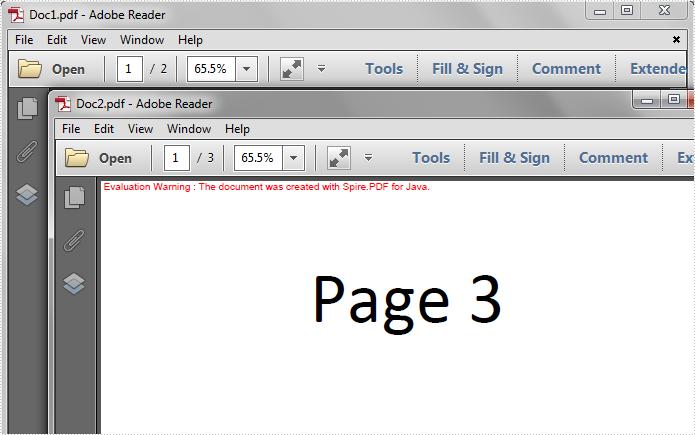 Split PDF Files in Java