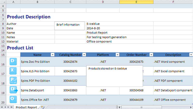 How to set the font and background for TextBox in Excel Chart