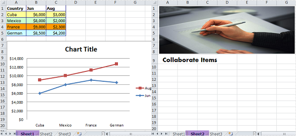 Convert Excel Worksheet to Image in WPF