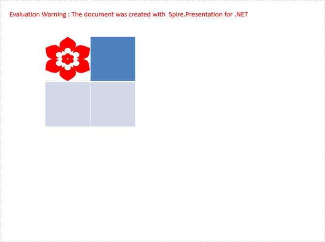 How to add an image in Table Cell via Spire.Presentation