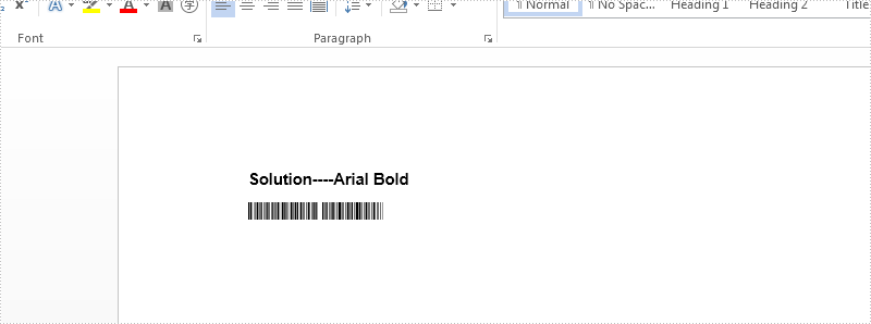 How to convert the word document with non-standard font to PDF