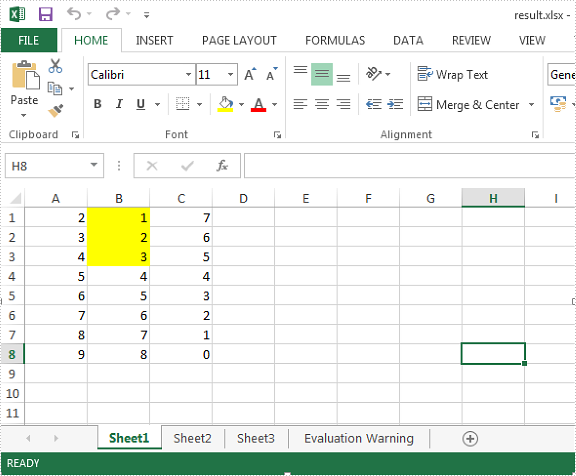 How to create a formula to apply conditional formatting in Excel in C#