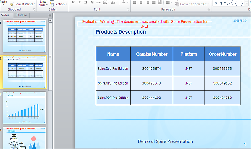 How to duplicate slides in PowerPoint document